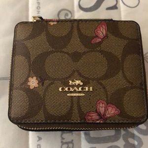 Coach Jewelry Travel Box